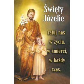 Plakat religijny Święty Józef (2)
