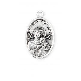 Medalik metalowy Matka Boża Nieustającej Pomocy
