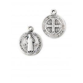 Medalik metalowy Święty Benedykt (1)
