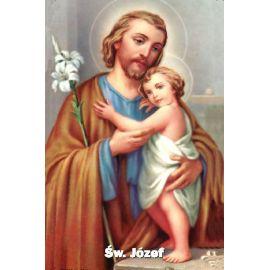 Obrazek Święty Józef z modlitwą