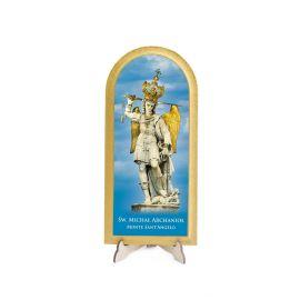 Święty Michał Archanioł - Obraz półokrągły