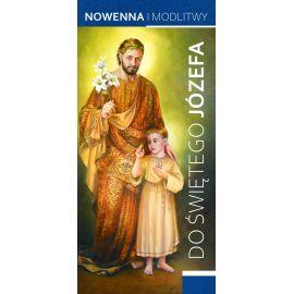Folderek - Nowenny i Modlitwy do Świętego Józefa