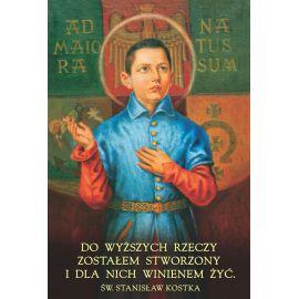 Plakat - Św. Stanisław Kostka