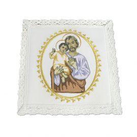 Bielizna kielichowa bawełniana - Św. Józef