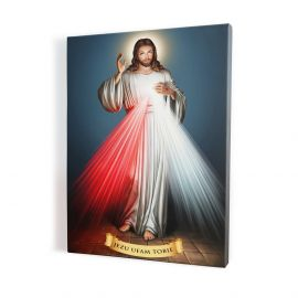 Obraz Jezus Miłosierny - płótno canvas (2)