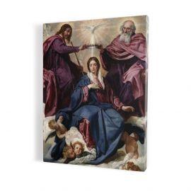Obraz Koronacja Matki Bożej - płótno canvas (17)