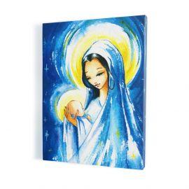 Obraz Matka Boska z Dzieciątkiem - płótno canvas (23)