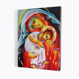 Obraz Matka Boża z Dzieciątkiem - płótno canvas (30)