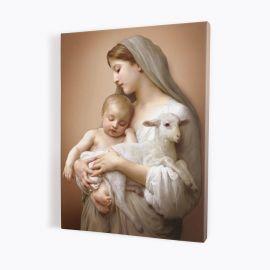 Obraz Matka Boża z Dzieciątkiem - płótno canvas (31)
