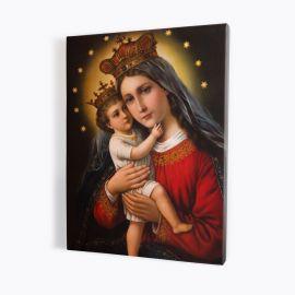 Obraz Matka Boża z Jezusem - płótno canvas (32)
