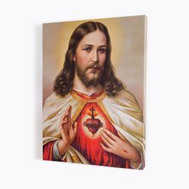 Obraz Serce Jezusa - płótno canvas (36)