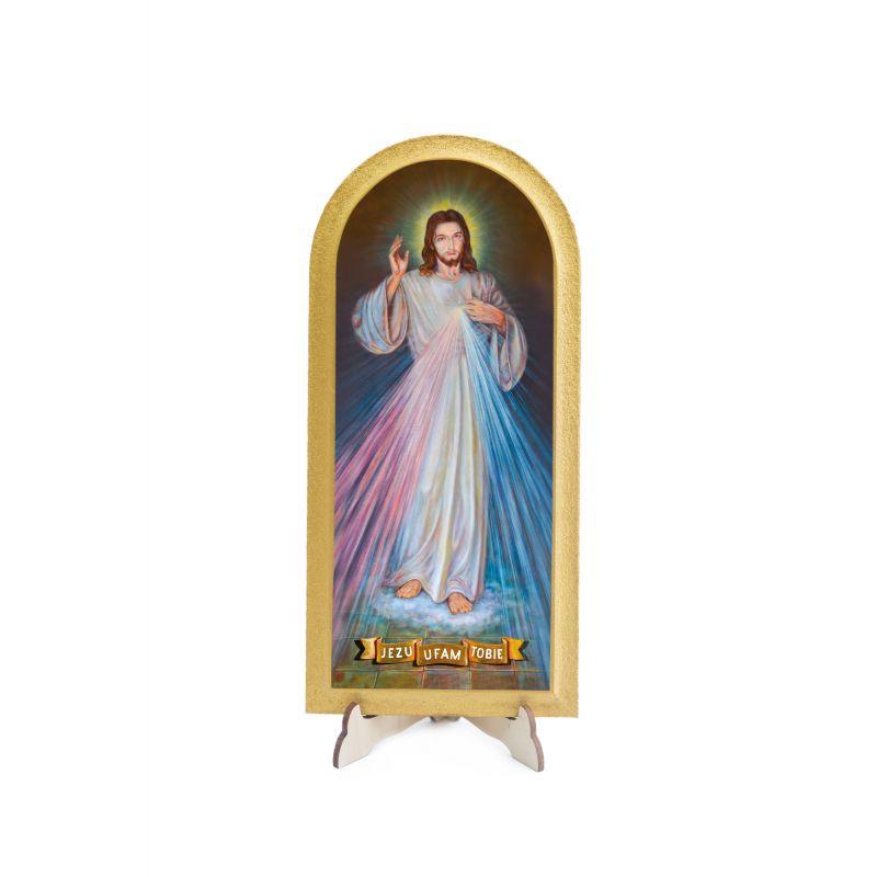 Obraz półokrągły Jezu Ufam Tobie