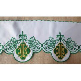 Metraż haftowany zielony, IHS