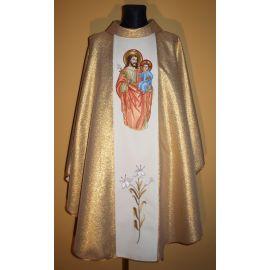 Ornat haftowany z wizerunkiem Świętego Józefa (13)