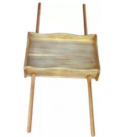 Feretron drewniany do przenoszenia figur