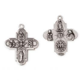 Krzyżyk metalowy grecki