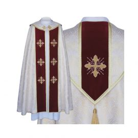 Kapa liturgiczna haftowana (28)