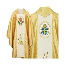 Ornat z wizerunkiem Jan Paweł II