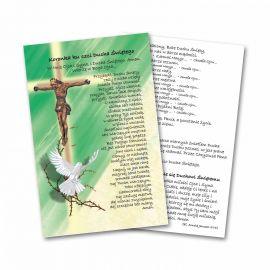 Zesłanie Ducha Świętego - Obrazek z modlitwą (2)