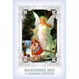 Kalendarz religijny z Aniołem Stróżem