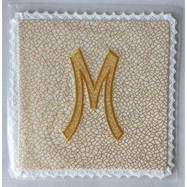 Palka haftowana wzór maryjny M (10)