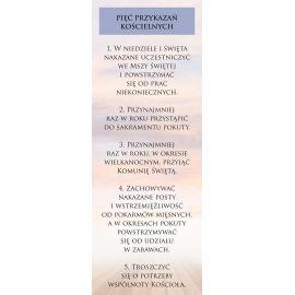 Baner - Pięć Przykazań Kościelnych