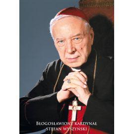 Kardynał Stefan Wyszyński - Ikona dwustronna z modlitwą format A5 (2)