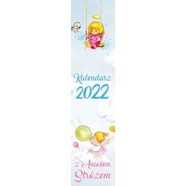 Kalendarz spiralka z Aniołkiem na 2022 rok