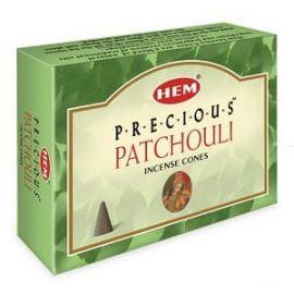 Kadzidło stożkowe Patchouli - 10 stożków