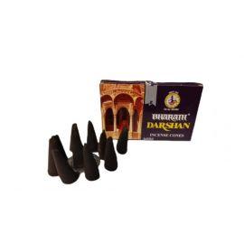 Kadzidło stożkowe Darshan - 10 stożków