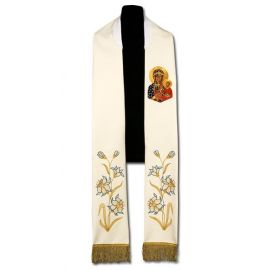 Stuła kapłańska MB Częstochowska (206)