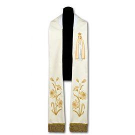 Stuła kapłańska MB Fatimska (208)