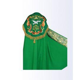 Kapa zielona IHS