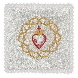 Palka serce w koronie cierniowej