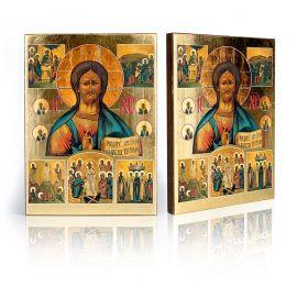 Chrystus Pantokrator oraz sceny z życia