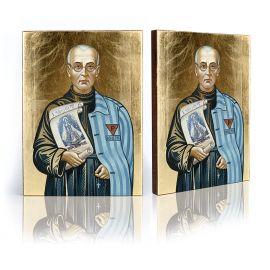 Ikona św. Maksymilian Kolbe