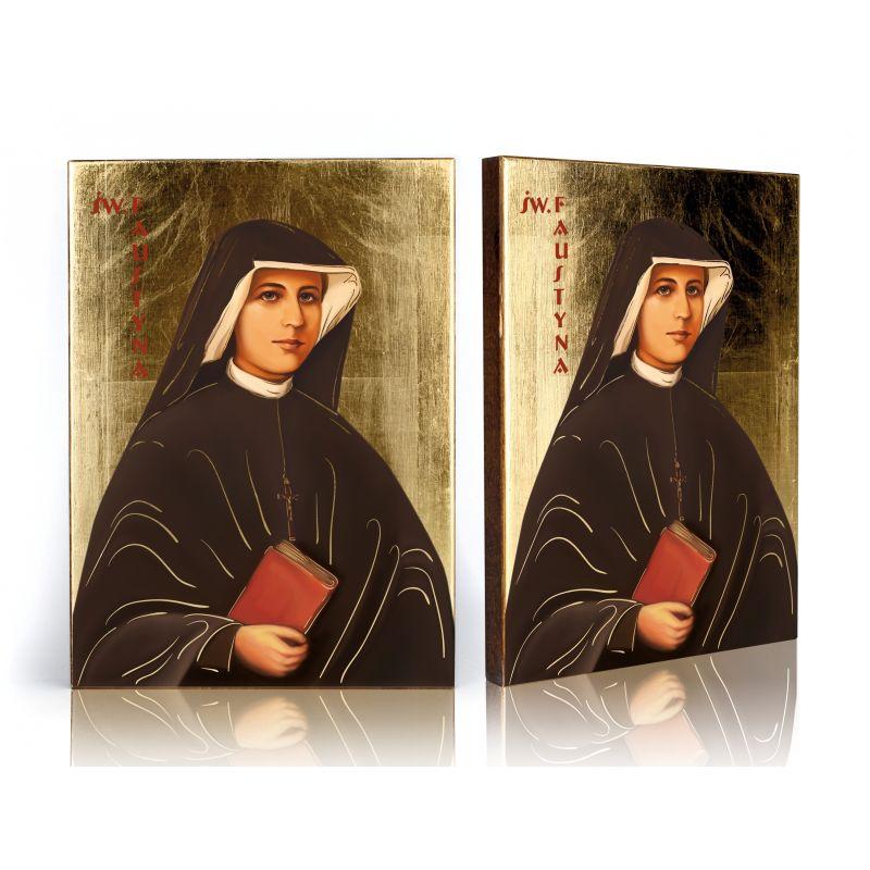 Ikona św. Faustyna (2)