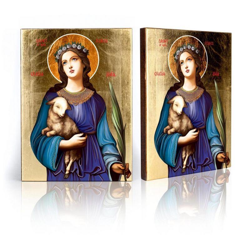 Ikona św. Agnieszka