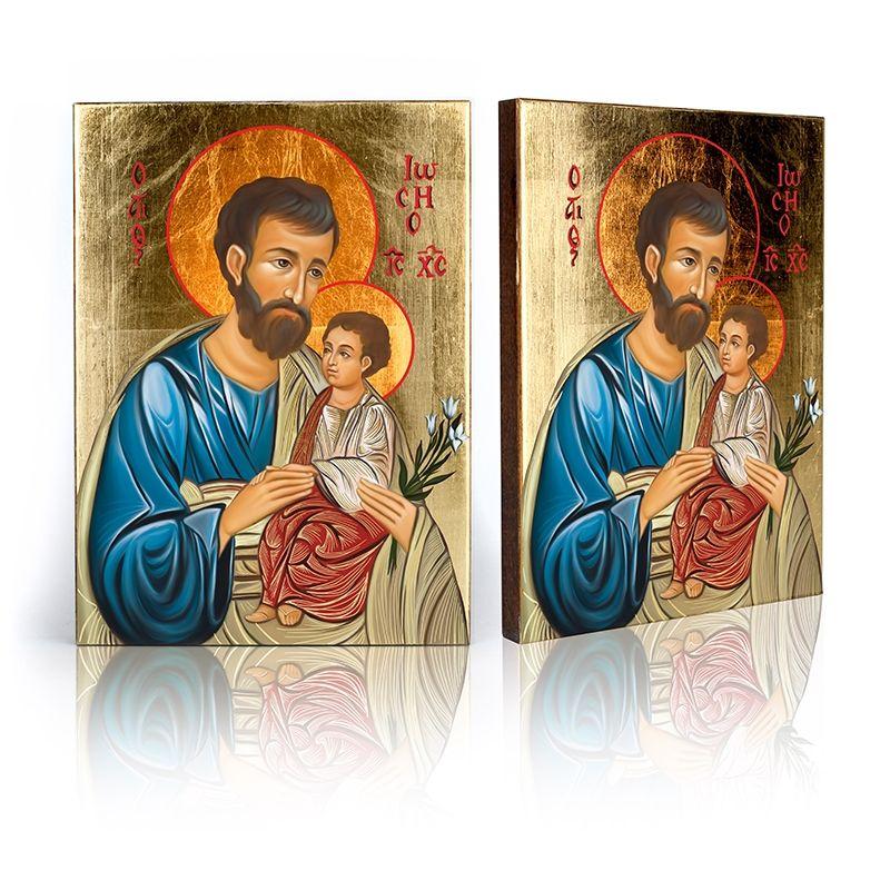 Ikona Święty Józef z Dzieciątkiem Jezus