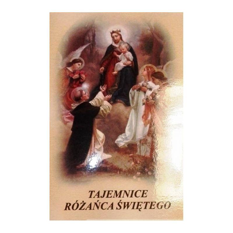 Tajemnice różańca świętego książeczka