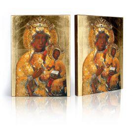 Ikona Matka Boża Częstochowska (w sukience bursztynowej)