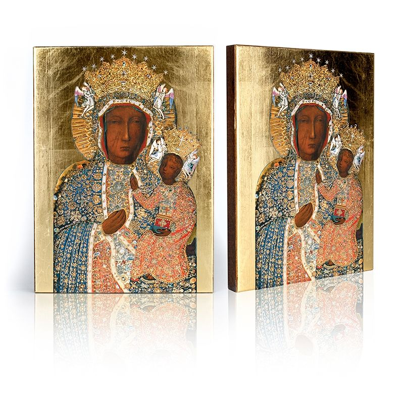 Ikona Matka Boża Częstochowska (w sukience diamentowej)
