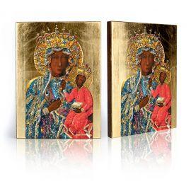 Ikona Matka Boża Częstochowska (w sukience wdzięczności)