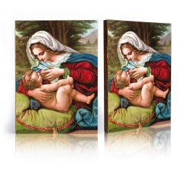 Ikona Matka Boża Karmiąca (2)