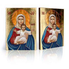 Ikona Matka Boża Tronująca