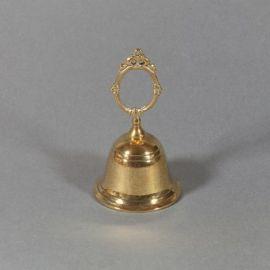 Dzwonek mosiężny pojedynczy