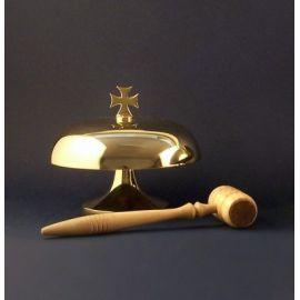 Gong mosiężny (śr. 18 cm)