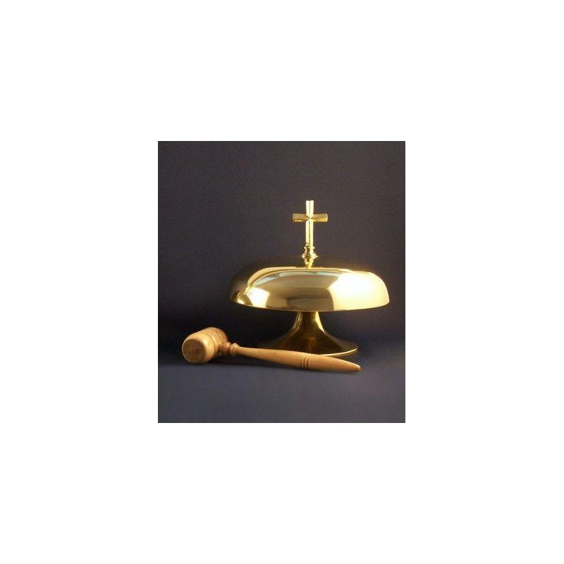 Gong mosiężny (śr. 26 cm)