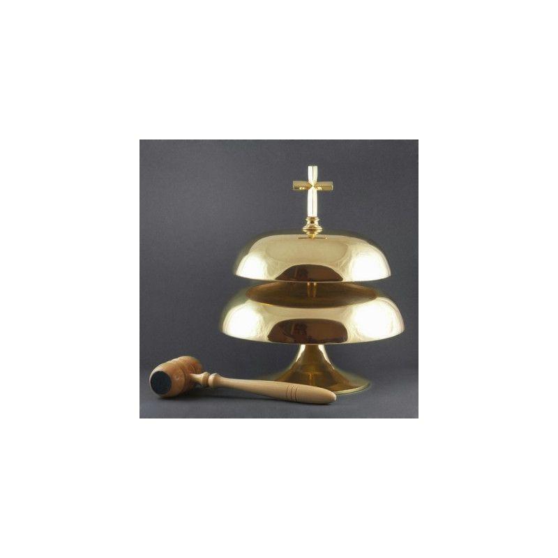 Gong podwójny (śr. 26 cm, 23 cm)