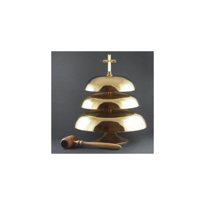 Gong potrójny (śr. 33 cm,26 cm,18 cm)